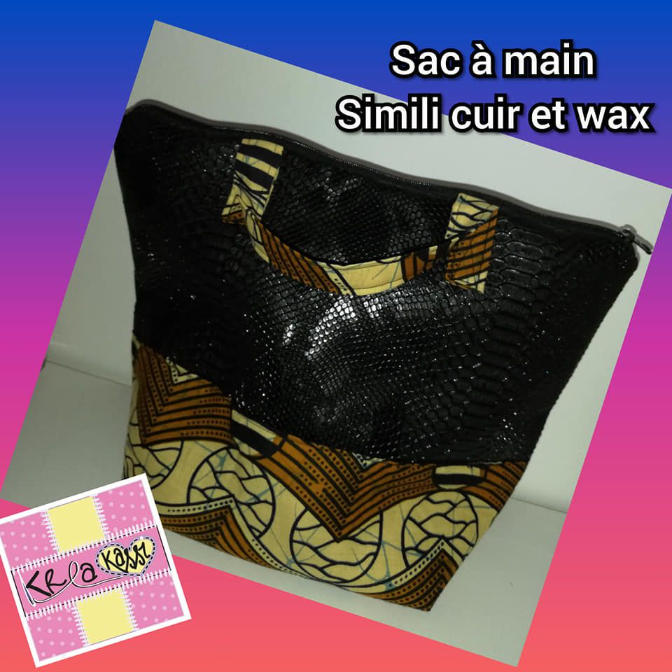 sac simili cuir - wax